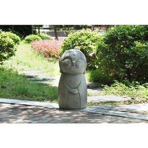 """Statue de jardin, japonaise souriante, 24"""""""