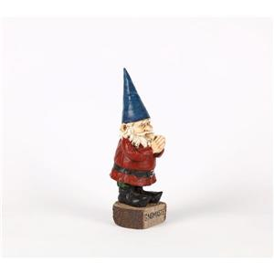 Hi-Line Gift Decorative Garden Statue - Prayer Gnome - 16.13""