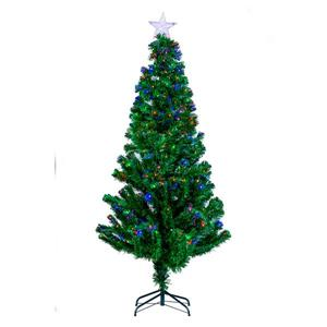 Hi-Line Gift Christmas Tree - Fiber Optic Multi-Color - 72""