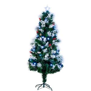 Hi-Line Gift Christmas Tree - Fiber Optic - Green - 72""