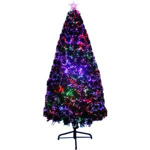 Hi-Line Gift Christmas Tree - Fiber Optic Multi-Color LED Light- 72""