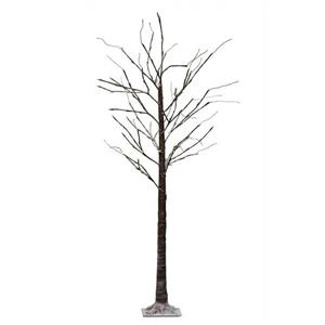 Hi-Line Gift 8-Function Black Tree - 120 LED Light