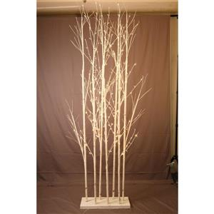 Hi-Line Gift Large Birch Tree - White - 240 LED Lights