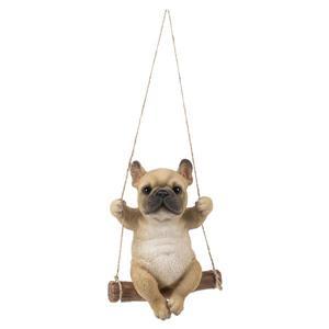 "Hi-Line Gift Decorative Garden Statue - French Bulldog - 5.31"""