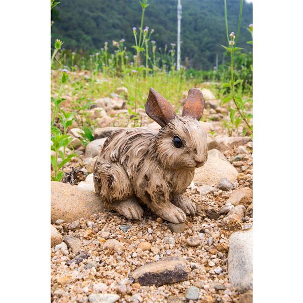 "Hi-Line Gift Decorative Garden Statue - Large Rabbit - 6.02"""