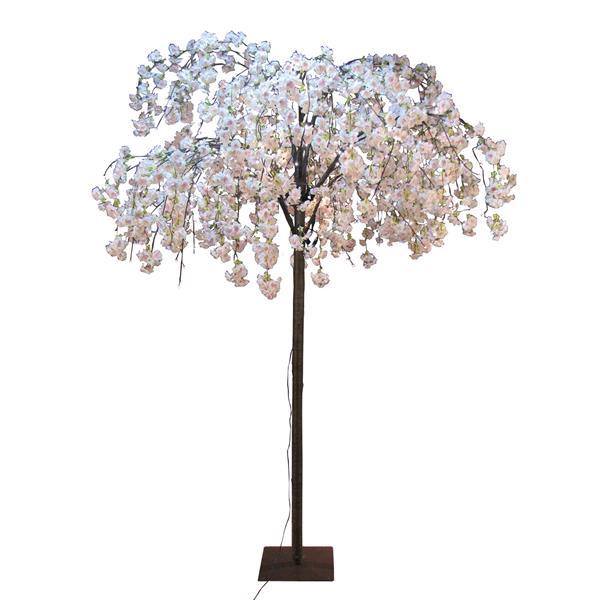 Hi-Line Gift Large Pink Cherry Blossom Tree - 288 LED Lights