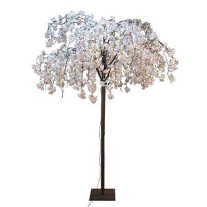 Hi-Line Gift Large Pink Cherry Blossom Tree - 288 LED Lights