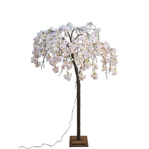 Hi-Line Gift Medium Pink Cherry Blossom Tree - 84 LED Lights