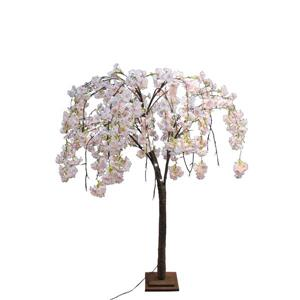 Hi-Line Gift Small Pink Cherry Blossom Tree - 66 LED Lights