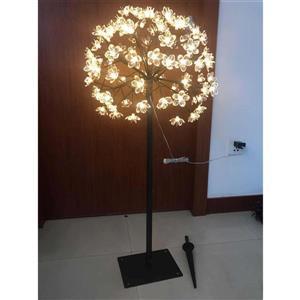 Grande jonquille en fleurs, blanc, 160 lumières DEL