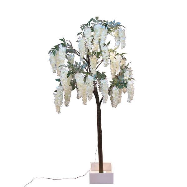 Hi-Line Gift Small Wisteria Tree With - 96 LED Lights