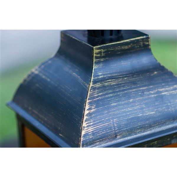 Hi-line Gift Ltd. Hi-Line Gift Outdoor Lantern - LED Light - Gold - 20 36188-AG