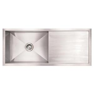 Whitehaus Collection Commercial Undermount Sink - Single Bowl - Stainless Steel