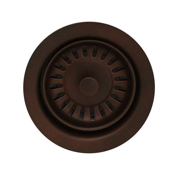 Whitehaus Collection Disposer Trim for Deep Fireclay Sinks - Mahogony Bronze