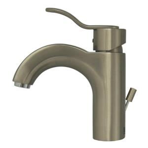 Whitehaus Collection Single Hole Bath Faucet - Brushed Nickel