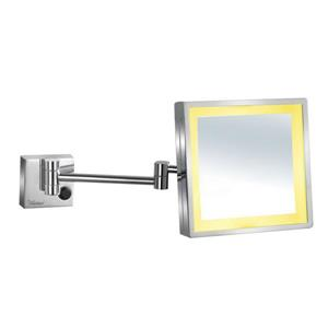 Whitehaus Collection Wall Mounted Mirror - LED - Chrome