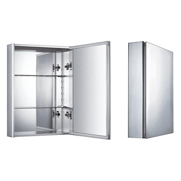 Whitehaus Collection Medicinehaus Single Door Medicine Cabinet