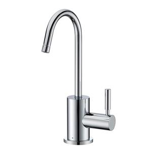 Whitehaus Collection Modern Cold Water Faucet - 1-Handle - Polished Chrome
