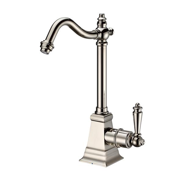 Whitehaus Collection Traditional Cold Water Faucet  - 1-Handle - Polished Nickel