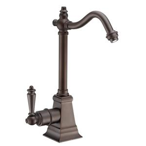Whitehaus Collection Instant Hot Water Faucet - Single Handle - Oil Rubbed Bronze