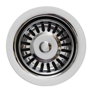 Whitehaus Collection Disposer Trim with Matching Strainer - Polished Chrome