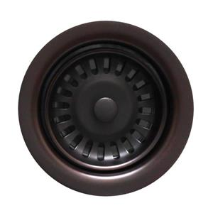 Whitehaus Collection Disposer Trim for Deep Fireclay Sinks - Oil Rubbed Bronze