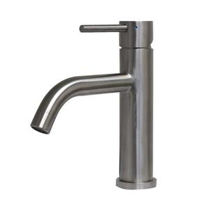 Whitehaus Collection Elevated Bath Faucet - Brushed Stainless Steel