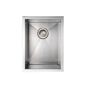 Whitehaus Collection Commercial Undermount Sink - Rectangle Single Bowl