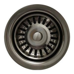 Disposer Trim for Deep Fireclay Sinks - Brushed Nickel