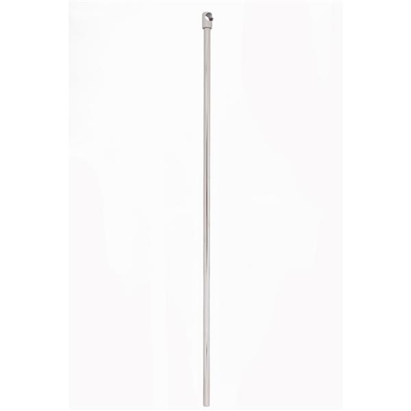 Cheviot Wall Support for Shower Rod - Silver