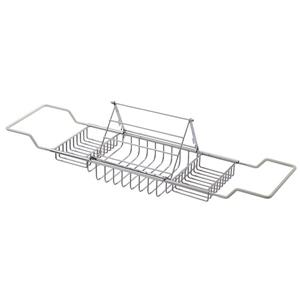 "Cheviot Bathtub Caddy with Reading Rack - 37 1/2"" - Chrome"