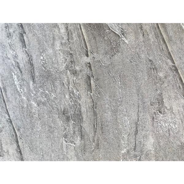"""Dessus de meuble-lavabo en quartz, 37"""" x 22"""", gris"""