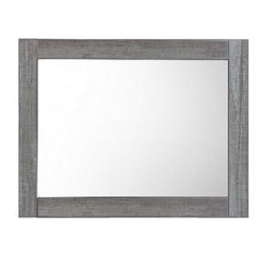 "Miroir de salle de bain «Relax», 35,5"" x  29,5"", bleu/gris"
