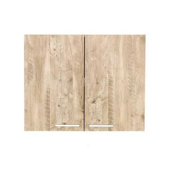 Luxo Marbre Washer/Dryer Relax Cabinet - 29.6-in x 23.6-in - Natural Wood