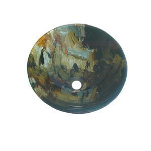 """Lavabo en verre, 16.5"""", Picasso"""