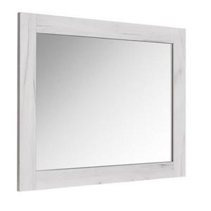 """Miroir de salle de bain «Bold», 35,5"""" x 29,5, vieux blanc"""