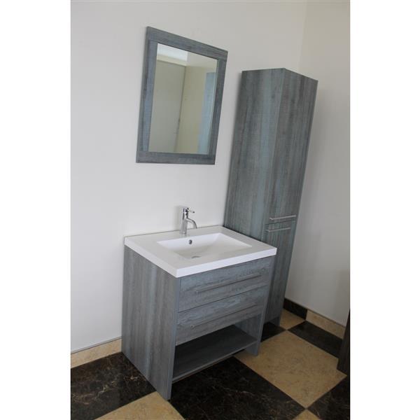 Luxo Marbre Miroir De Salle De Bain Relax 30 X 29 5
