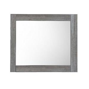 Luxo Marbre Relax Bathroom Mirror - 30-in x 29.5-in - Blue/Grey