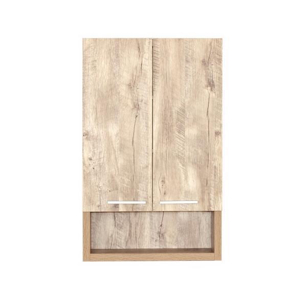 """Armoire à 2 portes, 22"""" x 35,5"""", bois naturel"""