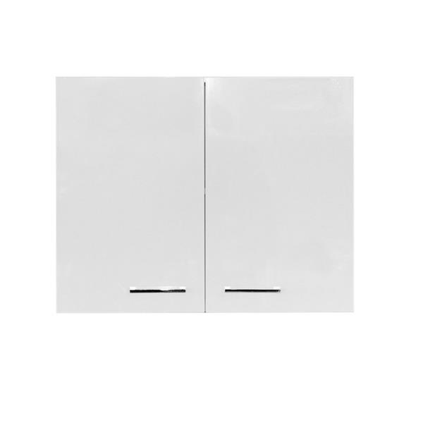 Luxo Marbre Washer/Dryer Cabinet - 29.5-in x 23.6-in - Lacquered White