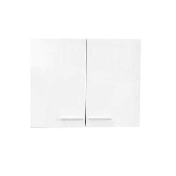 """Armoire dessus laveuse-sécheuse, 29,6"""" x 23,6"""", blanc laqué"""