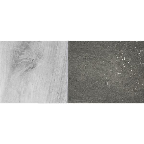 "Meuble-lavabo «Countryside», 48"", vieux bois blanc"