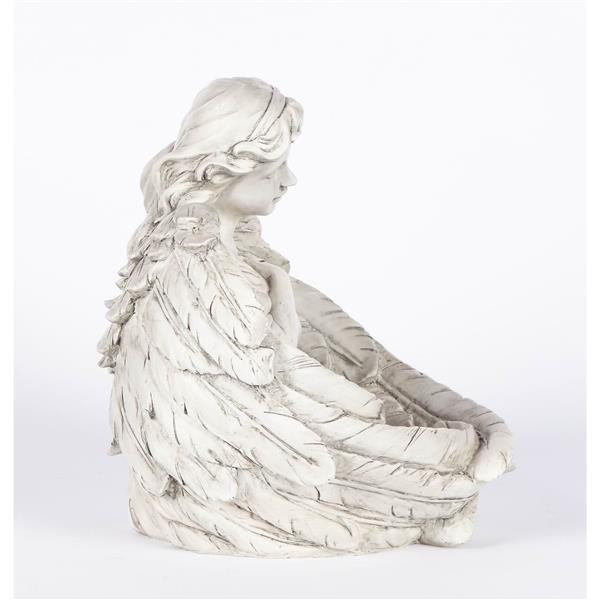 Hi-Line Gift Angels Praying Statues - Set of 2 - Multicoloured