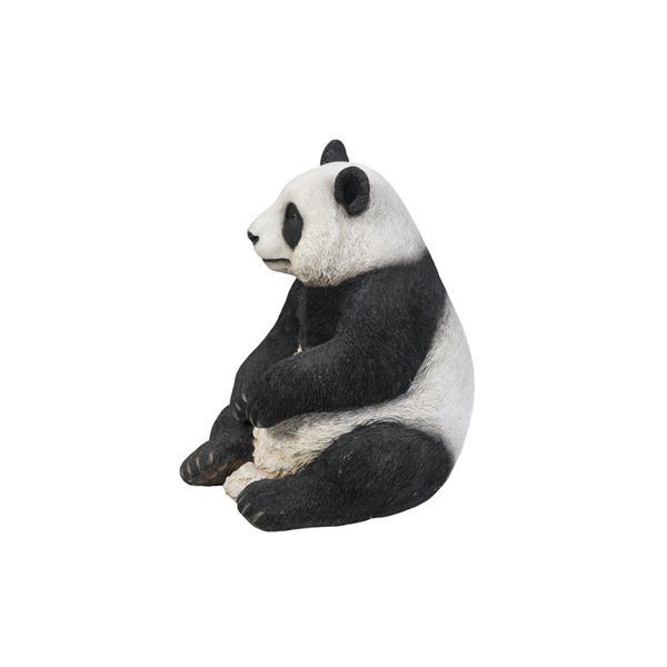 Hi-Line Gift Extra-Large Sitting Panda Statue - Multicoloured