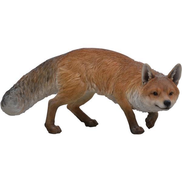 Hi-Line Gift Prowling Fox Statue - Multicoloured