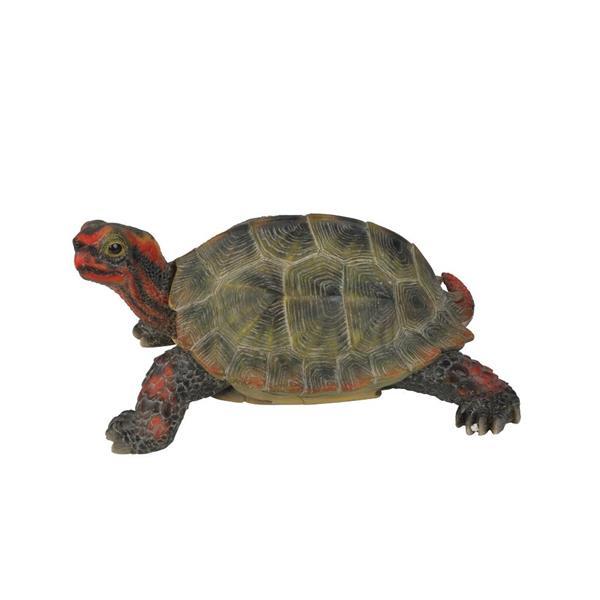 Hi-Line Gift Small Japanese Land Turtle Statue - Multicoloured