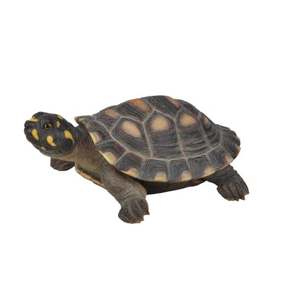 Hi-Line Gift Large Spotted Turtle Statue - Multicoloured