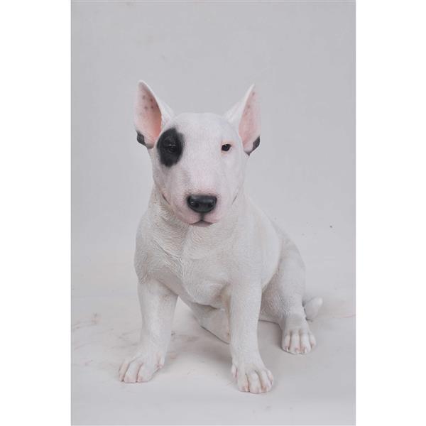 Hi-Line Gift Bull Terrier Statue - Multicoloured
