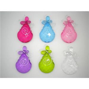 Hi-Line Gift Acrylic Butterfly Teardrop Suncatcher - Multicoloured