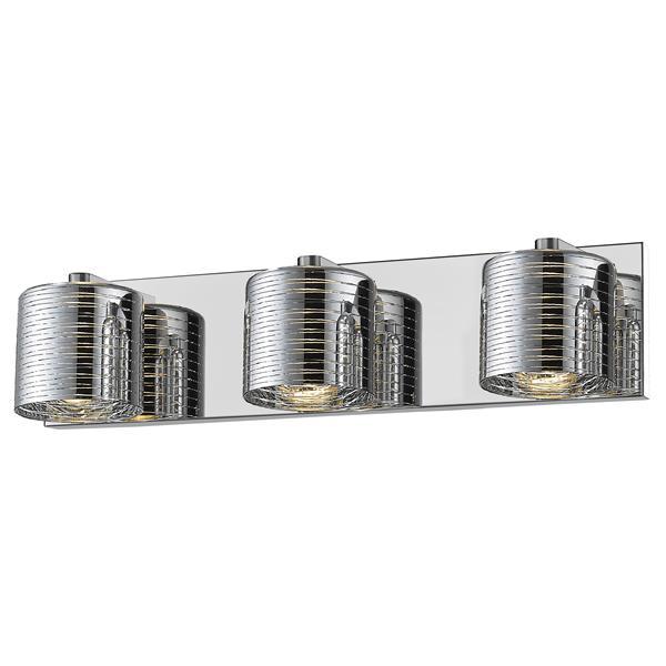 Z-Lite Sempter 3-Light Vanity Light - Chrome